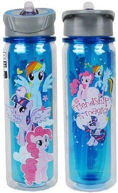 My Little Pony Friendship Is Magic Tritan Water Bottle: