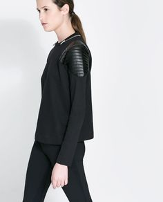 ROUND NECK SWEATSHIRT - Woman - New this week | ZARA United States