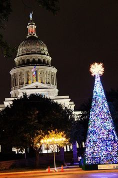 Christmas At The State Capital...Austin Texas