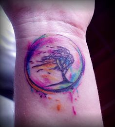 Like movement in this one...like that it is colorful, tho not fond of pink..    The Tree of life