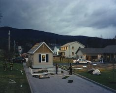 Gregory Crewdson, House in the road