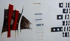 Je poursuis mes recherches autour des graphies textile. Etudes de trames dessinées, tissées.