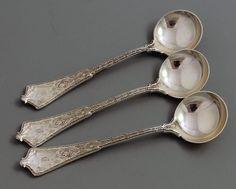 tiffany persian bouillon spoons