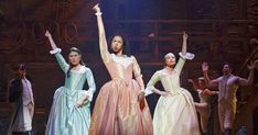 """Houston's Renée Elise Goldsberry won the Tony for best actress in a musical for her role in """"Hamilton"""" Sunday. Lin-Manuel Miranda's """"Hamilton"""" was nominated for a record 16 awards at the annual Tonys, held at New York's Beacon Theatre. Hamilton Broadway, Hamilton Musical, Theatre Nerds, Musical Theatre, Theatre Stage, Jasmine Cephas Jones, And Peggy, Lin Manuel Miranda, Marie Antoinette"""
