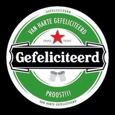 Heineken gefeliciteerd