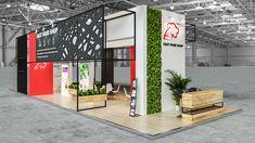 Trade Show Design, Stand Design, Exhibition Booth Design, Exhibition Stands, Reception Desk Design, Stage, Outdoor Decor, Ideas, Home Decor
