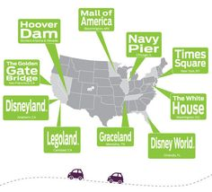 Mapquest summer 2012 infographic http://blog.mapquest.com/2012/07/12/mapquest-helps-you-make-the-most-of-summer-travel/