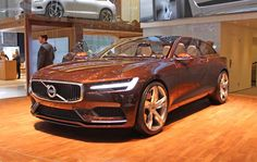 2016 Volvo V90 Car design 2016. Get your wallet ready. Check your car insurance.