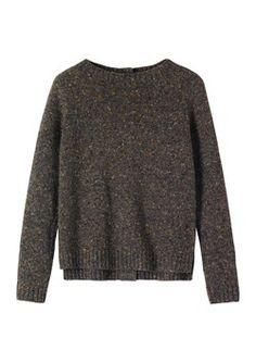 Uta sweater Toast forest grey