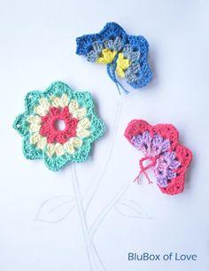 119 Beste Afbeeldingen Van Vlinders Haken Crochet Flowers