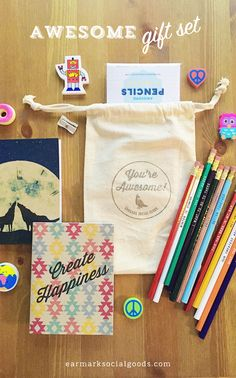You're Awesome Gift Set - earmarksocialgoods