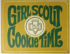 Girl Scout Cookie Posters