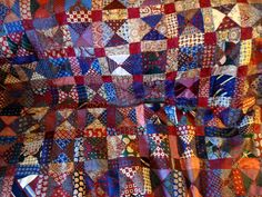 Cathy's Genealogy Blog: Treasure Chest Thursday - My Grandmother's Quilt