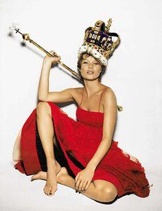 Kate Moss by Nick Knight