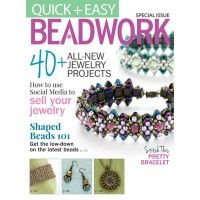 Quick + Easy Beadwork Magazine: Projects for Shaped Beads | InterweaveStore.com