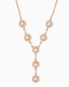 charming charlie | Angel Aster Necklace | UPC: 450900528805 #charmingcharlie