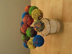 Cake Pops I made with the Baby Cakes cake pop maker    http://thebabycakesshop.com/products/cake-pop-makers/cp-12