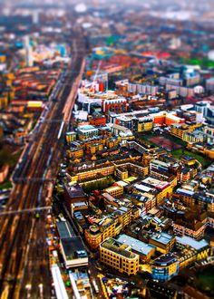 London - tilt shift photography