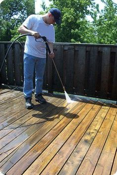 Benefits Of Hiring The Experts For Deck Cleaning.  Call The Go To Crew at 704-363-7551