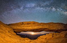 Milky Way Arch Photo by max seigal -- National Geographic Your Shot