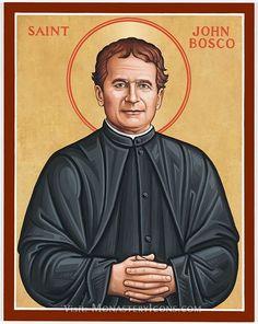 São João Bosco - Imagens, ícone, fotos, pinturas