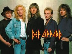 Def Leppard - my all-time favourite band :) can't believe I hadn't put them on here yet!