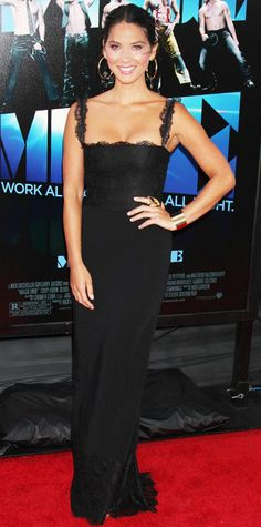 Olivia Munn On Her Favorite Red Carpet Looks - Magic Mike Premiere from #InStyle