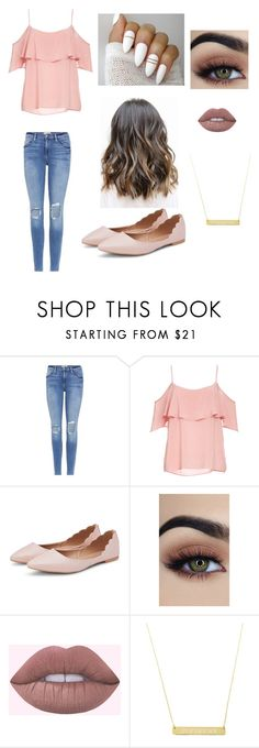 """Fancy casual lunch date"" by chloefogelmanis ❤ liked on Polyvore featuring Frame and BB Dakota"