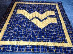 West Virginia University quilt I designed