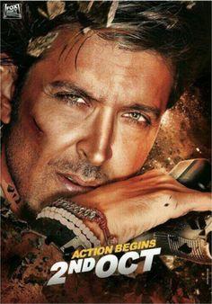Hrithik Roshan 'Bang-Bang' Poster