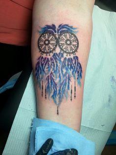 65 Best Owl Dreamcatcher Tattoo Images In 2019 New Tattoos Flower