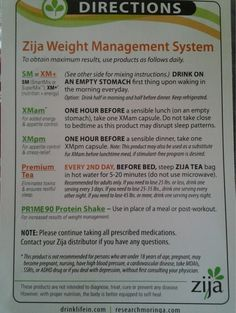 Zija Weight Management System!