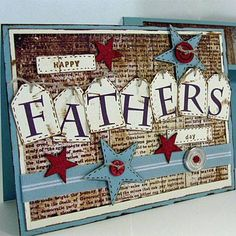 #papercraft #FathersDay ideas: #Card
