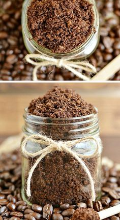 Homemade Coffee Scrub | DIY Holiday Gift Ideas for Best Friend | DIY Christmas Gift Ideas for Women