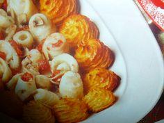 patate duchesse - con rotolini di platessa