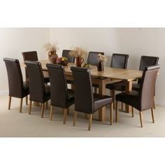 Shaftesbury Oak Extending Dining Table HOME DECOR Pinterest - 10 seater dining table