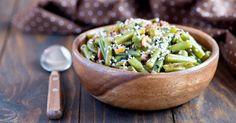 Recette de Haricots verts minceur à la Carbonara. Facile et rapide à réaliser, goûteuse et diététique. Ingrédients, préparation et recettes associées.