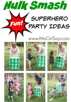 Superhero party ideas 12