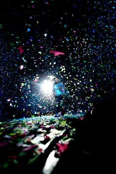 Coldplay concerts are the best! Love the confetti butterflies!