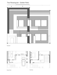 Safeen House : this house designed for mr Saffen in Erbil, Iraq with 200 msq area. Front Elevation Designs, House Elevation, Minimalist House Design, Minimalist Home, Facade House, Modern Exterior, Architecture Plan, Ground Floor, Beach House