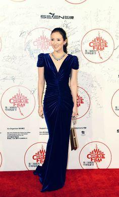 Zhang Ziyi in Marc Bouwer Couture