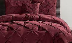 Groupon - Pintucked Comforter Set (4-Piece). Groupon deal price: $59.99
