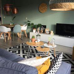 19 top living room paint ideas as the best decoration 9 Living Room Paint, Home Living Room, Living Room Designs, Living Room Decor, Bedroom Decor, Living Room Inspiration, Home Decor Inspiration, Room Interior Design, House Design