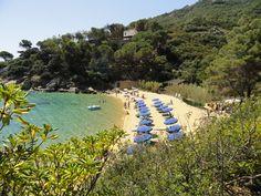 Isola del Giglio, Caldane beach