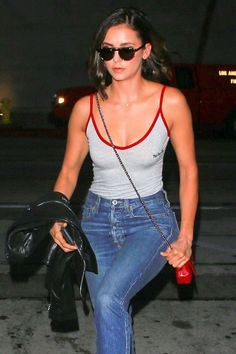 Nina Dobrev At Craig's Restaurant In West Hollywood