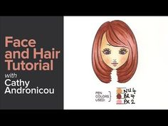 Tutorial on how to colour faces and hair with your Chameleon Pens. Help us…