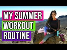 My Summer Workout Routine | Hawaii Shaycation Pt. 3 - YouTube