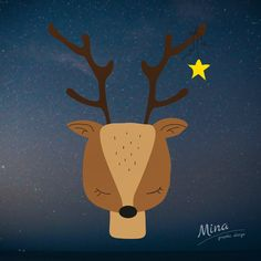 #reindeer #christmas #2days #2daystochristmas #vanoce #illustration #illustrator #adobeillustrator #star #rudolph #graphicdesign #graphic_art #art #mina #minagraphicdesign #cute #sobik #feliznavidad #navidad #deer #adventninedele