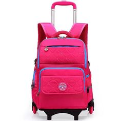 Wheeled Backpack - Trolley School Bags 6 Wheels To Climb Stairs 03ed114adc710
