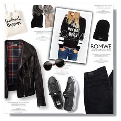 """Untitled #802"" by intellectual-blackness ❤ liked on Polyvore featuring Paige Denim, Keds and romwe"